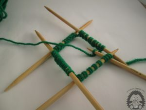 knitting with five needles
