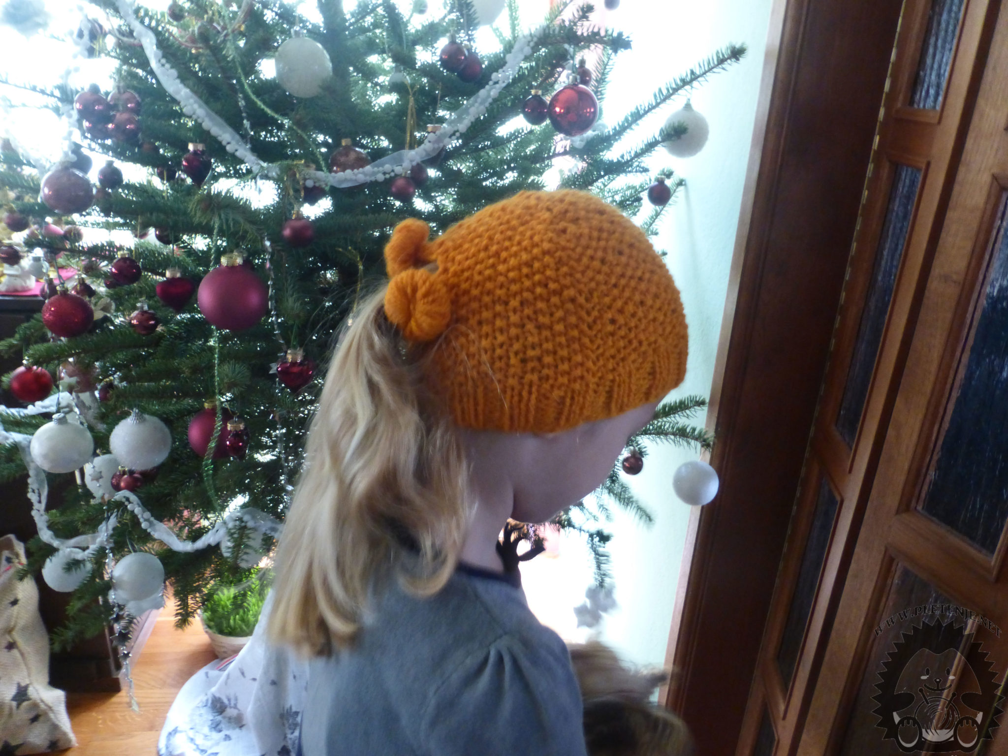 knit cap for long hair - home page