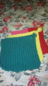 knit a square - 2